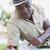 homme · lecture · jardin · séance · chaise · longue - photo stock © wavebreak_media