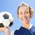 kobiet · piłkarz · portret · szczęśliwy · piłka · nożna · piłka · nożna - zdjęcia stock © wavebreak_media