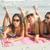 group of friends in swimsuits taking a selfie stock photo © wavebreak_media