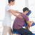 man having back massage stock photo © wavebreak_media