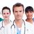 retrato · concentrado · médicos · equipo · blanco · trabajo - foto stock © wavebreak_media