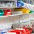 Close-up of a scientist taking something on the shelf stock photo © wavebreak_media
