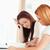 vrouwen · vergadering · tabel · huiswerk · keuken · schoonheid - stockfoto © wavebreak_media