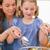 портрет · женщину · Салат · дочь · кухне · продовольствие - Сток-фото © wavebreak_media