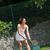 髪 · テニス · 黒 · 訓練 · 成功 - ストックフォト © wavebreak_media