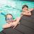水 · 弟 · 姉妹 · ダイビング · 眼鏡 - ストックフォト © wavebreak_media