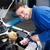 alegre · suspensión · coche · taller · trabajo · tecnología - foto stock © wavebreak_media