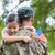 soldier reunited with his daughter stock photo © wavebreak_media