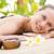 bella · donna · pietra · massaggio · spa · centro · ritratto - foto d'archivio © wavebreak_media