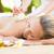 Attractive woman getting massage on her back stock photo © wavebreak_media