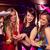 mooie · vrienden · kip · nacht · discotheek · partij - stockfoto © wavebreak_media