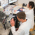 mutlu · çalışma · mikroskop · üniversite · adam - stok fotoğraf © wavebreak_media