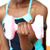 young woman working out with dumbbell stock photo © wavebreak_media