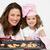 sonriendo · madre · hija · qué · cocina - foto stock © wavebreak_media