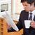 gazete · finansal · haber · kahve · başlık · kâğıt - stok fotoğraf © wavebreak_media