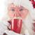 piros · csésze · kávé · izolált · forró · fehér - stock fotó © wavebreak_media