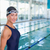 fit female swimmer by pool at leisure center stock photo © wavebreak_media