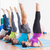 people doing pilates exercises in gym stock photo © wavebreak_media