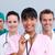 retrato · jóvenes · médicos · equipo · blanco · trabajo - foto stock © wavebreak_media