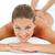 feliz · mulher · jovem · de · volta · massagem - foto stock © wavebreak_media