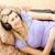 mujer · bonita · escuchar · música · salón · casa · feliz - foto stock © wavebreak_media