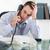 депрессия · бизнесмен · телефон · работу - Сток-фото © wavebreak_media