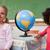 школьницы · позируют · мира · классе · школы · ребенка - Сток-фото © wavebreak_media
