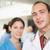 orvos · nővér · néz · kamera · kórház · folyosó - stock fotó © wavebreak_media