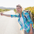 Attractive blonde hitch hiking on rural road stock photo © wavebreak_media