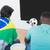 futball · ventillátor · tv · nézés · fiatalember · fanatikus · néz - stock fotó © wavebreak_media
