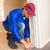 uomo · isolamento · casa · lavoro - foto d'archivio © wavebreak_media