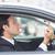 ビジネスマン · 道路 · 車 · 男 · ウィンドウ - ストックフォト © wavebreak_media