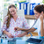 mulher · grávida · médico · sorridente · sessão · consultor · quarto - foto stock © wavebreak_media