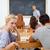 insegnante · classe · bello · math · problema · bambini - foto d'archivio © wavebreak_media
