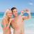 paar · foto · strand · vrouw · zomer - stockfoto © wavebreak_media