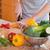 счастливым · повар · овощей · девочку - Сток-фото © wavebreak_media