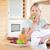 comer · manzana · bebé · alimentos - foto stock © wavebreak_media