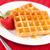 fresa · junto · blanco · placa · rojo · servilleta - foto stock © wavebreak_media