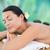 pretty · woman · caldo · pietra · massaggio · ritratto - foto d'archivio © wavebreak_media