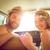 libertad · feliz · libre · pareja · coche · conducción - foto stock © wavebreak_media