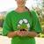 environmental activist showing a plant stock photo © wavebreak_media