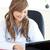 улыбаясь · женщины · врач · рабочих · ноутбука · служба - Сток-фото © wavebreak_media