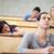 Öğrenciler · dinleme · sınıf · arkadaşı · uyku · amfitiyatro - stok fotoğraf © wavebreak_media