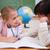 Cute · школьницы · глядя · другой · мира · пер - Сток-фото © wavebreak_media