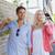 jeunes · élégant · couple · marche · Shopping · passage - photo stock © wavebreak_media