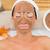 mosolyog · barna · hajú · sár · kezelés · gyógyfürdő · nő - stock fotó © wavebreak_media