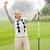 lady golfer cheering stock photo © wavebreak_media