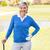 female golfer smiling at camera stock photo © wavebreak_media