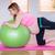 fitness · expectante · mulher · vista · lateral · feliz · saudável - foto stock © wavebreak_media