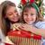 счастливым · расширенной · семьи · Hat · подарки - Сток-фото © wavebreak_media